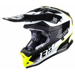 JUST1 J32 PRO KICK WHITE-YELLOW-BLACK