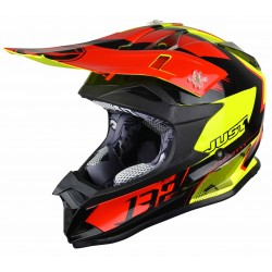 JUST1 J32 PRO KICK BLACK-RED -YELLOW