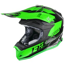 JUST1 J32 PRO KICK GREEN-WHITE-TITANIUM