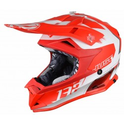 JUST1 J32 PRO KICK WHITE-RED