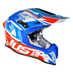 JUST 1 J12 DOMINATOR white - red -  blue