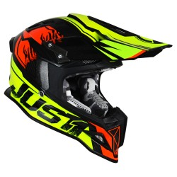 JUST 1 J12 DOMINATOR neon lime - red