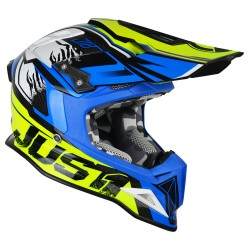 JUST 1 J12 DOMINATOR neon yellow - blue